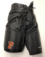Bauer Custom Pro Stock Hockey Pants Black Large +2 Princeton NCAA New