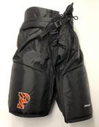Bauer Custom Pro Stock Hockey Pants Black Medium Princeton NCAA New