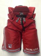 "Bauer Custom Vapor Pro Stock Hockey Pants Medium +1"" New York Rangers NHL Used DEANGELO"