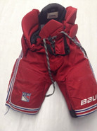 Bauer Custom Vapor Pro Stock Hockey Pants Medium New York Rangers NHL Used CLENDENING