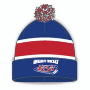 AHA Athletic Knit Team Pom Beanie Toque #812