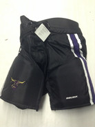Bauer Custom Pro Stock Hockey Pants Black Small MAVERICKS MSU NCAA New