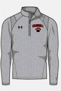 Prudence Crandall Under Armour Hustle 1/4 Zip Grey