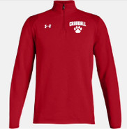 Prudence Crandall Under Armour Hustle 1/4 Zip Red