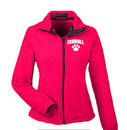 Prudence Crandall Ultra Club Women's Full Zip Fleece RED