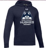 Northeast Huskies Under Armour Hustle Team Hoodie Youth