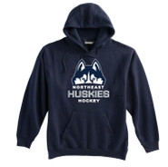 Northeast Huskies Pennant Super 10 Cotton Hoodie YOUTH