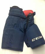 "CCM HP45X Custom Pro Stock Hockey Pants Large + 2"" Florida Panthers NHL Used"