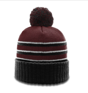 754c73a1c Easthampton Hockey Richardson Pom Pom Winter Hat Maroon