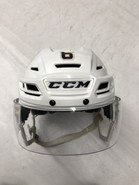 CCM RESISTANCE PRO STOCK HOCKEY HELMET WHITE SMALL THUNDERBIRDS #6