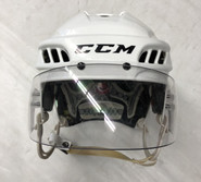 CCM FIT LITE PRO STOCK HOCKEY HELMET WHITE MEDIUM THUNDERBIRDS