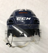 CCM HT TACKS 710 PRO STOCK HOCKEY HELMET NAVY LARGE THUNDERBIRDS #21
