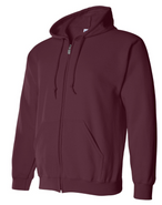 Easthampton Hockey Gildan Heavy Blend Full Zip Sweatshirt