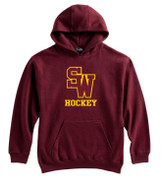 SW Youth Hockey Pennant Super 10 Cotton Hoodie Adult