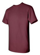 Easthampton Hockey Gildan Cotton Short Sleeve Tee Shirt Maroon