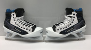 BAUER REACTOR 7000 Custom Pro Stock Ice Hockey Goal Skates 9 E