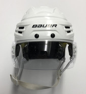 BAUER RE AKT IMS 9.0 PRO STOCK HOCKEY HELMET WHITE MEDIUM #61