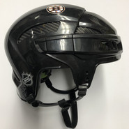 REEBOK HT 11K PRO STOCK HOCKEY HELMET BLACK MEDIUM BOSTON BRUINS NHL