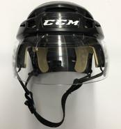 CCM VECTOR V08 PRO STOCK HOCKEY HELMET BLACK SMALL BOSTON BRUINS NHL #48