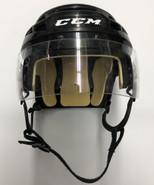 CCM VECTOR V08 PRO STOCK HOCKEY HELMET BLACK SMALL AHL