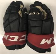 """CCM HGTKPP Pro Stock Custom Hockey Gloves 13"""" NHL Arizona Coyotes #16"""