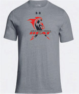 Western Mass Heat Under Armour Stadium T Short Sleeve Tee Shirt Steel Grey Mens