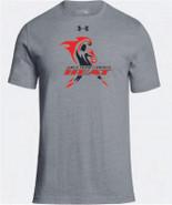 Western Mass Heat Under Armour Stadium T Short Sleeve Tee Shirt Steel Grey Mens