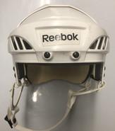 REEBOK 4K PRO STOCK HOCKEY HELMET WHITE LARGE