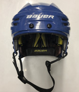 BAUER REAKT PRO STOCK HOCKEY HELMET BLUE SMALL