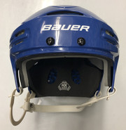 BAUER BHH 5100 PRO STOCK HOCKEY HELMET ROYAL BLUE MEDIUM