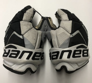 "Bauer Vapor 1X Pro Stock Custom Hockey Gloves 13"" Friars #10"