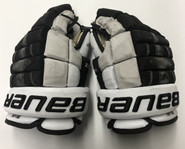"Bauer Nexus 1N Custom Pro Stock Hockey Gloves 12"" Senior Used PC NCAA"