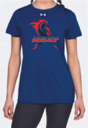 Western Mass Heat Under Armour Short Sleeve Locker Tee Womens Royal Blue