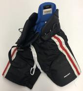 Bauer Custom Pro Hockey Pants NORTHEASTERN HUSKIES Medium Pro Stock