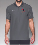 Western Mass Heat Under Armour Team Polo Graphite Grey