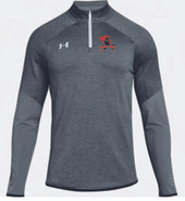 Western Mass Heat Under Armour Qualifier Hybrid 1/4 Zip Mens Grey