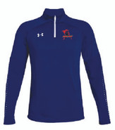 Western Mass Heat Under Armour Qualifier Hybrid 1/4 Zip Mens Royal Blue