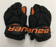 "Bauer Vapor 1X Pro Stock Custom Hockey Gloves 12"" Princeton"