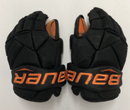"Bauer Vapor 1X Pro Stock Custom Hockey Gloves 13"" Princeton"