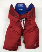 Warrior Covert QRL Custom Pro Hockey Pants Large Boston University Terriers Used #23