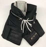 CCM HPG 12A Custom Pro Stock Hockey Goal Pants Black XL USED