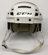 CCM VECTOR V08 PRO STOCK HOCKEY HELMET WHITE MEDIUM WP
