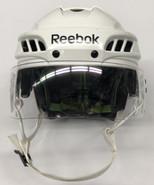 REEBOK 11K PRO STOCK HOCKEY HELMET WHITE MEDIUM WP
