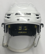 BAUER REAKT PRO STOCK HOCKEY HELMET WHITE SMALL 25