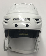 BAUER REAKT PRO STOCK HOCKEY HELMET WHITE SMALL