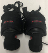 CCM PRO STOCK GOALIE KNEE PADS USED