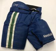 Reebok MHP7000 Custom Pro Stock Hockey Pants Medium CT Whale AHL Used