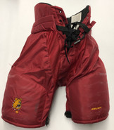 Bauer Custom Pro Hockey Pants Ferris State Bulldogs Medium Pro Stock NCAA Used