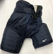 Nike Custom Pro Stock Hockey Pants Medium Navy Blue
