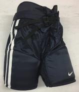 Nike Custom Pro Stock Hockey Pants Small Navy Blue New #12